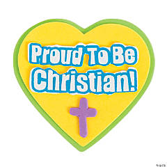 Proud To Be A Christian Badge Craft Kit