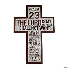 Psalm 23 Hanging Cross