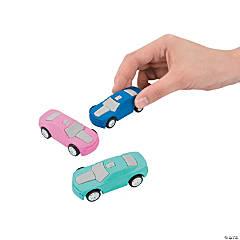 Pullback Car Erasers