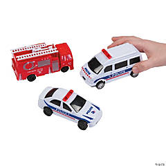 Pullback Rescue Cars