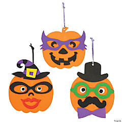 Pumpkin Character Ornament Craft Kit