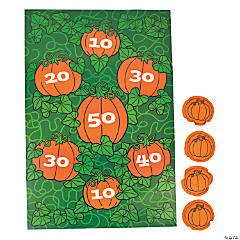 Pumpkin Chuckin' Bean Bag Toss Game