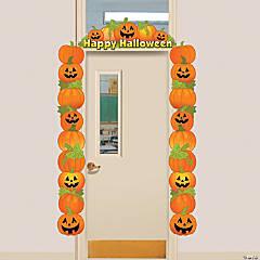 Pumpkin Door Border Halloween Décor