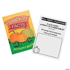 Pumpkin Facts Activity Books
