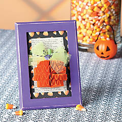 Pumpkin Frame Idea
