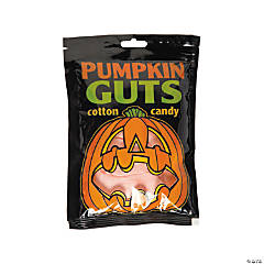 Pumpkin Guts Cotton Candy