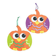 Pumpkin Owl Sign Craft Kit