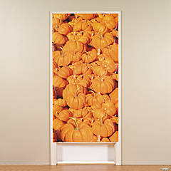 Pumpkin Patch Door Cover