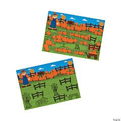 Pumpkin Patch Scratch 'N Reveal Activities