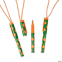 Pumpkin Pens on a Rope