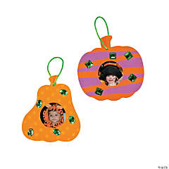 Pumpkin Picture Frame Ornament Craft Kit