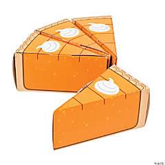 Pumpkin Pie Favor Boxes