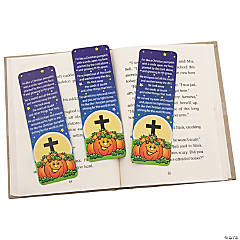Pumpkin Prayer Bookmarks