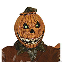 Pumpkin Rot Latex Mask