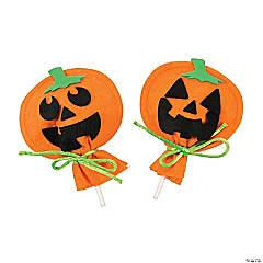 Pumpkin Sucker Cover Craft Kit
