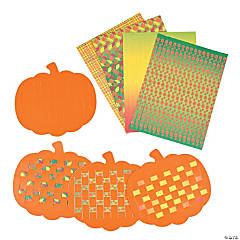 Pumpkin Weaving Mats
