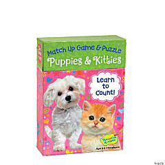 Puppies & Kitties Doodle Match Up Game