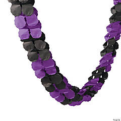 Purple & Black Garland