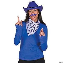 Purple Awareness Ribbon Cowboy Costume Idea