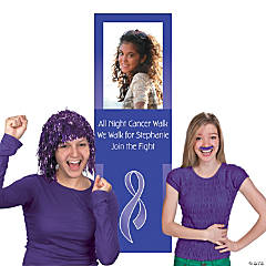 Purple Awareness Ribbon Photo Booth