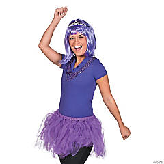 Purple Awareness Ribbon Princess Costume Idea