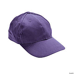 Purple Baseball Caps