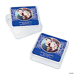 Purple Custom Photo Square Containers