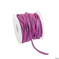 Purple Faux Leather Cording