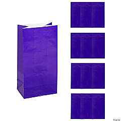 Purple Gift Bags