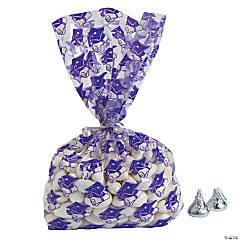 Purple Graduation Cellophane Bags