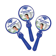 Purple Graduation Custom Photo Clappers