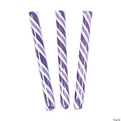 Purple Hard Candy Sticks