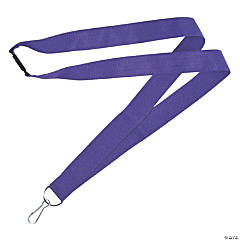 Purple Nylon Lanyards