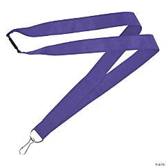 Purple Nylon Lanyards