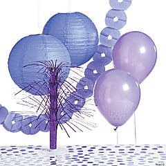 Purple Party Decorating Kit