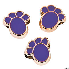 Purple Paw Beads