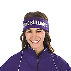 Purple Personalized Headbands