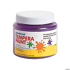 Purple Powder Tempera Paint