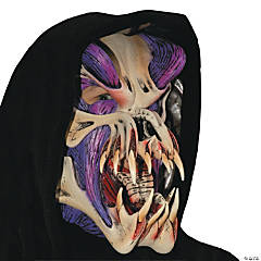 Purple Predator Halloween Mask