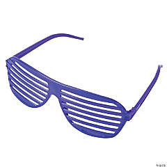 Purple Shutter Shading Glasses