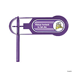 Purple Team Spirit Custom Photo Giant Noisemakers
