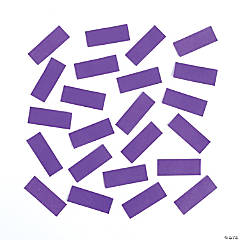 Purple Tissue Paper Confetti