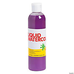 Purple Washable Liquid Watercolor Paint