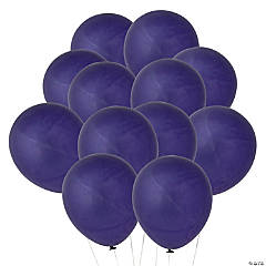 Quartz Purple Latex Balloons