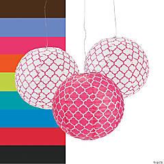 Quatrefoil Paper Lanterns