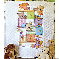 Quilt Stampedxstitch Kit-Baby Drawers