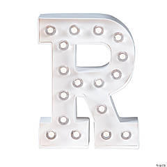 """""""R"""" Marquee Light-Up Kit"""