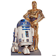 R2-D2 & C-3PO Cardboard Stand-Up