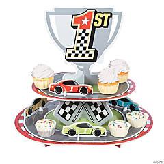 Race Car Birthday Cupcake Stand