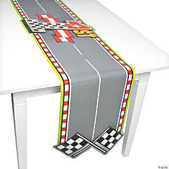 Race Car Birthday Table Runner